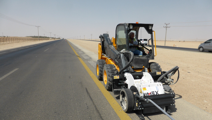 Simex RS 16 planer meets with success in Saudi Arabia